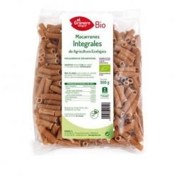 Macarrones integrales de Agricultura ecológica 500g