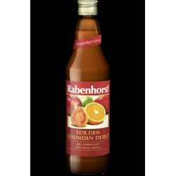 Zumo de manzana, naranja y guayaba Rabenhorst, 750 ml