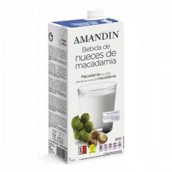Bebida Vegetal de Nueces de macadamia Amandin