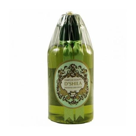 Champú de eucalipto frena la caída capilar D'Shila 300 ml