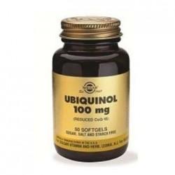 Ubiquinol 100 MG 50 capsulas Solgar