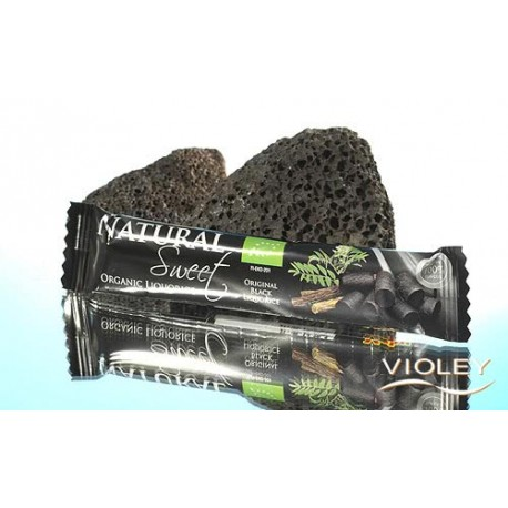 Regaliz negra Organic Natural Sweet