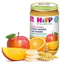 Frutas Variadas con Cereales Hipp
