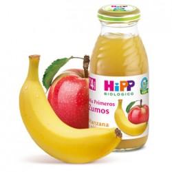Zumo de platano y manzana Hipp
